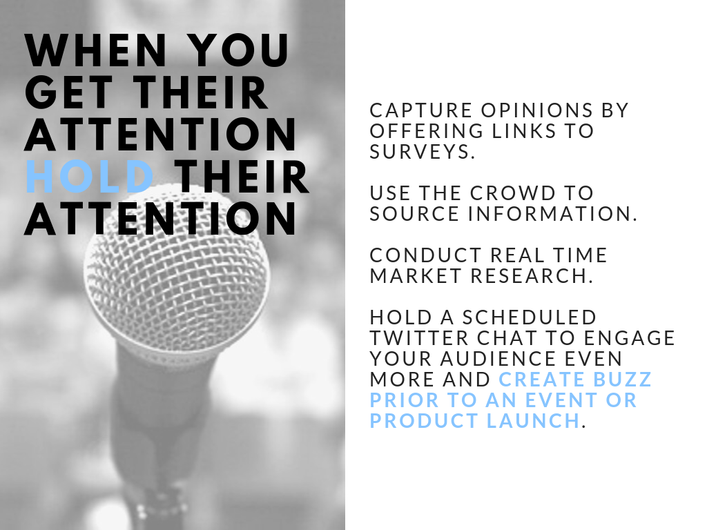 Biz Dev Social: Hold Their Attention